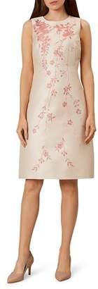 Hobbs London Melody Floral Jacquard Dress