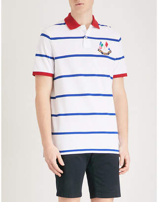 Polo Ralph Lauren Cross Flags cotton-piqué polo shirt