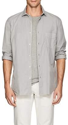 Hartford Men's Garment-Dyed Cotton Shirt