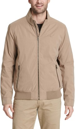 Dockers Men's Barracuda Microtwill Stand-Collar Bomber Jacket