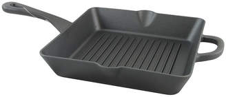 Asstd National Brand Crock-Pot Artisan 10 Square Preseasoned Enameled Cast Iron Grill Pan