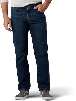 Men's Urban Pipeline Dark Vintage Straight-Leg MaxFlex Jeans