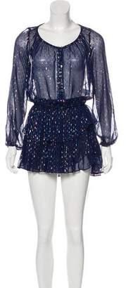 LoveShackFancy Silk Skirt Set