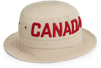 CANADIAN OLYMPIC TEAM COLLECTION Canada Wordmark Bucket Hat