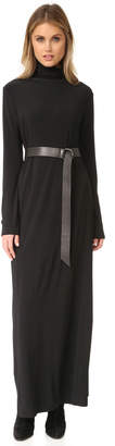 Norma Kamali Kamali Kulture Go Turtleneck Maxi Dress $150 thestylecure.com