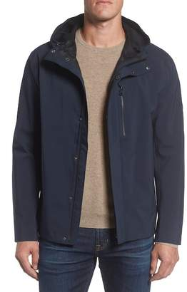 Andrew Marc Stratus Waterproof Hooded Rain Jacket