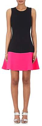 Lisa Perry Women's Colorblocked Fit & Flare Dress