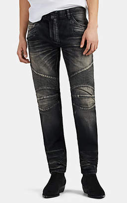 faf02a37913be9 Balmain Men's Skinny Biker Jeans - Black