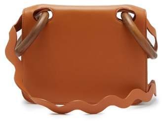 Roksanda Neneh Wave Strap Leather Cross Body Bag - Womens - Tan