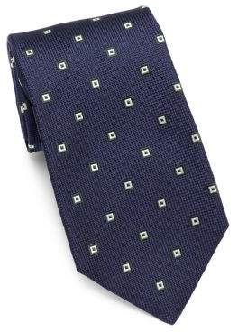 Isaia Box Silk Tie