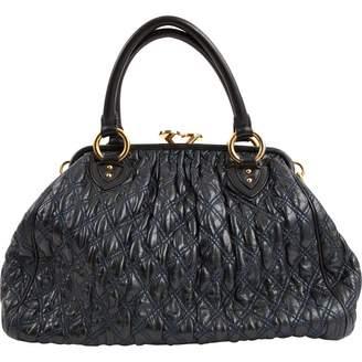 Marc Jacobs Stam Green Leather Handbag