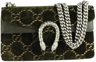 Gucci Dionysus Green Velvet Handbag