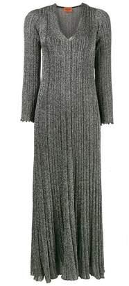 Missoni lurex knitted dress