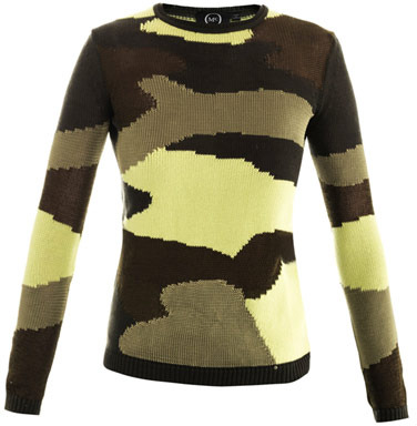McQ Camouflage sweater