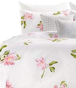 Kate Spade Breezy Magnolia 212 Thread Count Cotton Three-Piece Duvet Cover Set