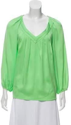 Diane von Furstenberg Cahil Silk Top