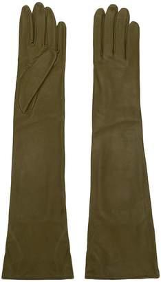 Cavallini Erika long leather gloves