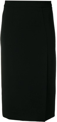 P.A.R.O.S.H. pencil skirt with side slit
