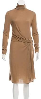 Ralph Lauren Purple Label Cashmere Midi Dress
