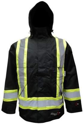 Viking Men's Professional Insulated Journeyman 300D Trilobal Rip-stop FR Rain Jacket