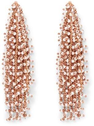 Vince Camuto Rose Goldtone Waterfall Earrings