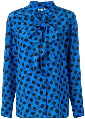 Kenzo polka dot blouse
