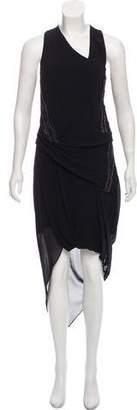 Helmut Lang Silk Maxi Dress