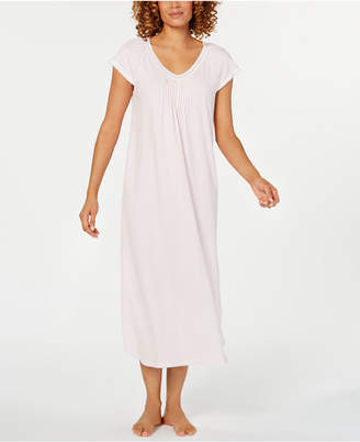 Miss Elaine Printed Knit Long Nightgown 8513fa0c9