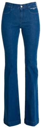 Stella McCartney The 70s Flare Organic Stretch-Cotton Jeans