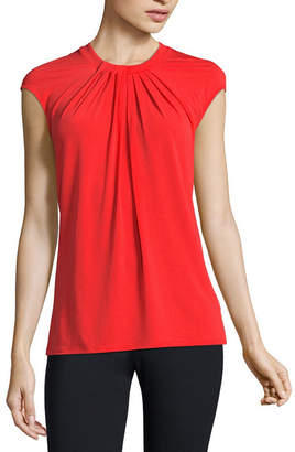 Liz Claiborne Sleeveless Knit Blouse - Tall
