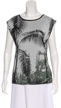 Dries Van Noten Knit Sleeveless Top
