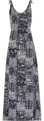 Kain Label Phoenix Tie-Dyed Crepe De Chine Maxi Dress