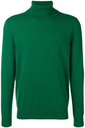 Laneus high neck knit top