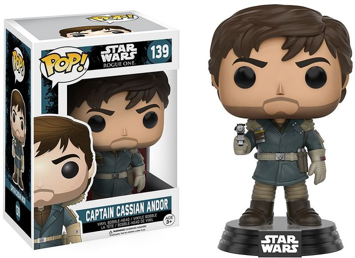 Funko Star Wars: Rogue One Captain Cassian Andor Vinyl Funko POP!
