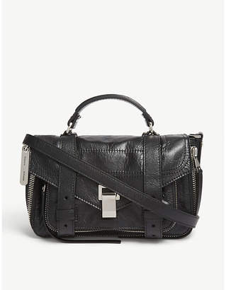 Proenza Schouler White PS1 Tiny Paper Leather Satchel