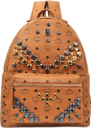 MCM Stark M studs Medium Backpack