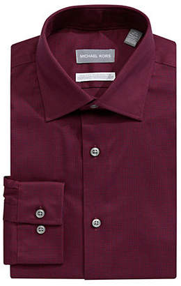 MICHAEL Michael Kors Non-Iron Slim Fit Dress Shirt