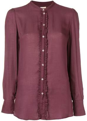 Massimo Alba ruffle detail blouse