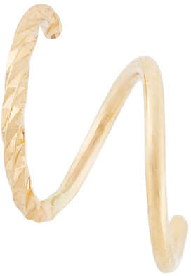 Maria Black 18kt gold Diamond Cut Twirl earrings