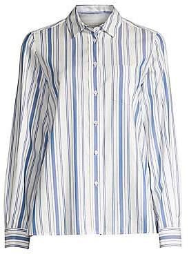 Max Mara Women's Canova Stripe Button-Down Shirt