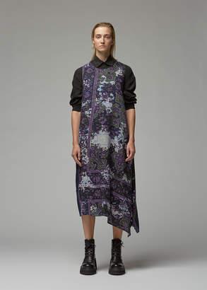 Yohji Yamamoto Y's By Left Flare Sleeveless Dress