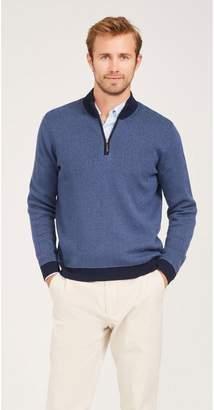 J.Mclaughlin Gideon Sweater in Herringbone Jacquard