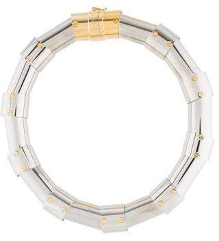 Lanvin Large Link Collar Necklace