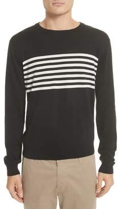 Todd Snyder Stripe Silk & Cotton Sweater