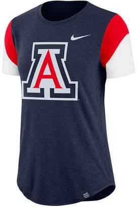 Nike Women's Arizona Wildcats Tri-Blend Fan T-Shirt