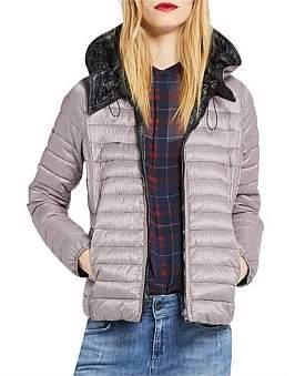 Marella Nerone Quilted Jacket W. Hood