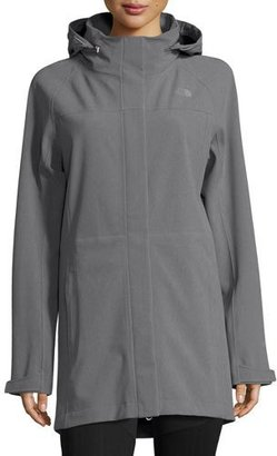 The North Face Apex Disruptor Gore-Tex® Parka, Medium Heather Gray $230 thestylecure.com