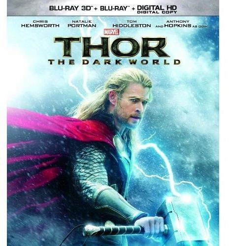 "WALT DISNEY VIDEO ""Thor: The Dark World"" 3D Blu-ray Bundle with Digital Download"