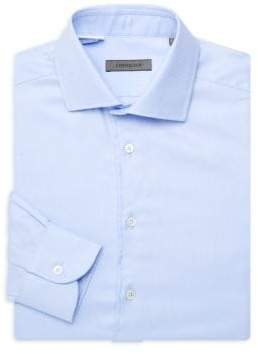Corneliani Arrow Print Dress Shirt