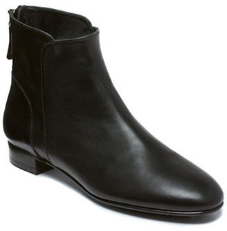 Delman Myth Leather Ankle Boots $398 thestylecure.com